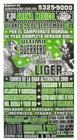 G.T.W.A - Lucha Libre Poster - Ultimo Guerrero-25 Sep 09