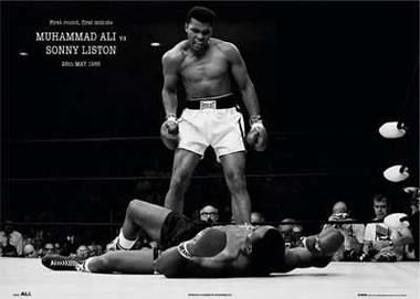 Muhammad Ali vs. Sonny Liston  - Poster