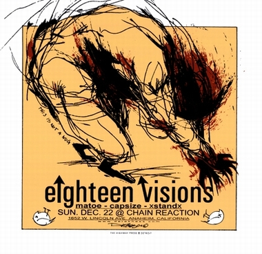 Derek Hess - eighteen visions - Forex