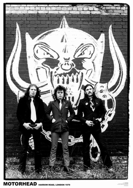 Motörhead Poster Harrow Road, London 1979
