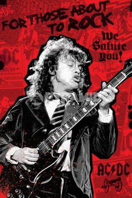 AC/DC Poster For Those About to Rock