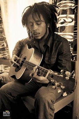 Bob Marley Poster Gitarre