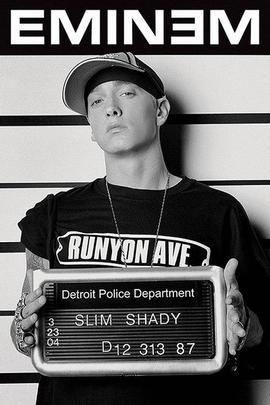 Eminem Poster Verbrecherkartei