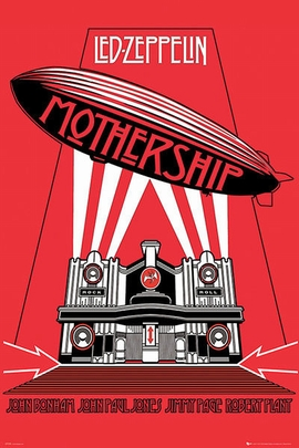Led Zeppelin Poster Mothership
