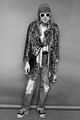 Nirvana Poster Kurt Cobain Sunglasses