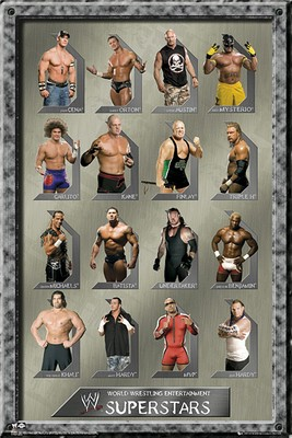 WWE - Superstars - Poster