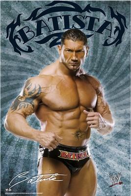 WWE - Batista - Poster