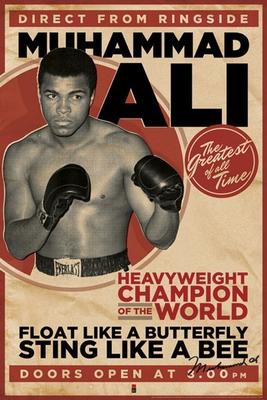 Muhammad Ali Poster Vintage