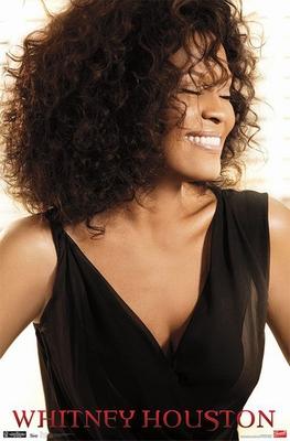 Whitney Houston Poster Smile