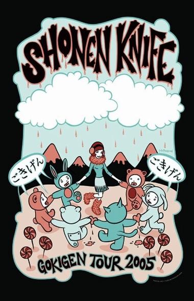 Shonen Knife 2005 Tour Poster