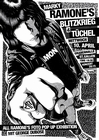 Marky Ramones Blitzkrieg Poster