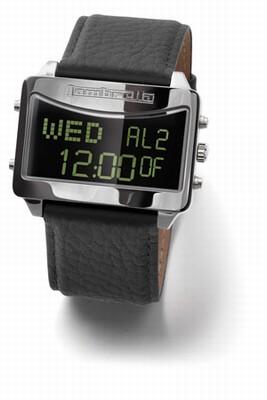 Monza Digital Black - Lambretta Uhr