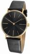 Cesare Gold schwarz - Lambretta Uhr Modell: 2182bla