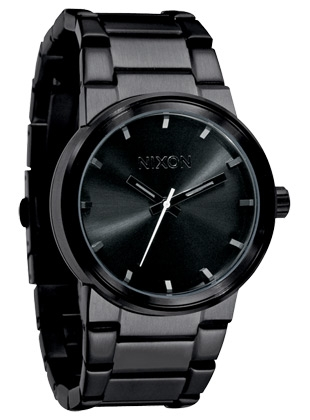 The Cannon - All Black - Nixon Uhr