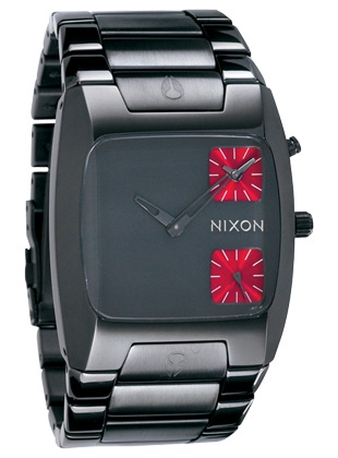 The Banks - Gunmetal - Nixon Uhr