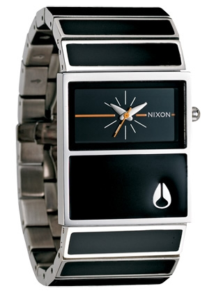The Chalet - Black - Nixon Uhr