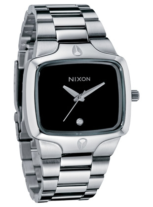The Player - black - Nixon Uhr