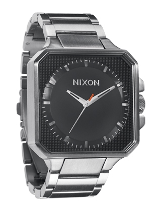 The Platform - Black - Nixon Uhr