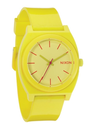 The Time Teller P - Yellow - Nixon Uhr