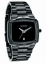 The Player - All Black - Nixon Uhr