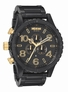THE 51-30 CHRONO - MATTE BLACK / GOLD - NIXON UHR