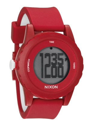 The Genie - Red - Nixon Uhr