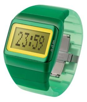 Link Uhr grün