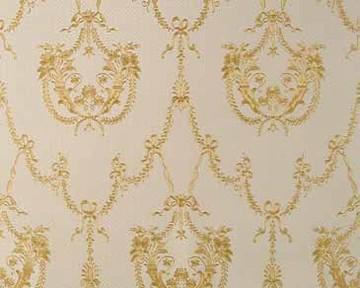 tapete hermitage v weiss gold hermitage v retro tapeten pr sentiert von klang und kleid. Black Bedroom Furniture Sets. Home Design Ideas