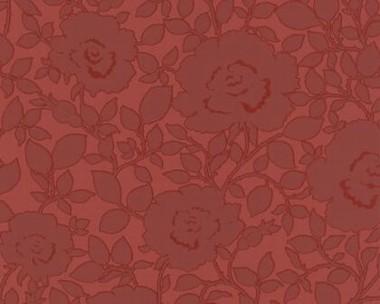 tapete flock ii dunkelrot rosen flock ii retro tapeten pr sentiert von klang und kleid. Black Bedroom Furniture Sets. Home Design Ideas
