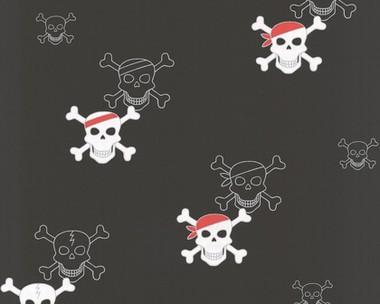 Tapete kinderzimmer piraten many live it love it for Piraten accessoires kinderzimmer