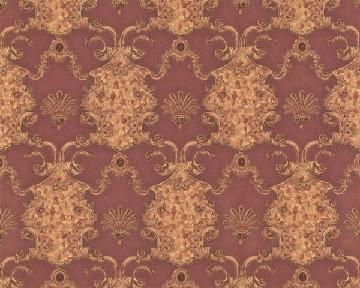tapete hermitage vi palmier rot hermitage vi retro tapeten pr sentiert von klang und. Black Bedroom Furniture Sets. Home Design Ideas