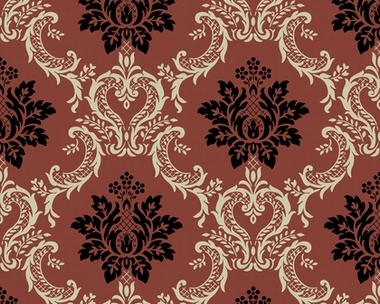 Tapete classic fleece rot classic fleece retro for Fleece tapete