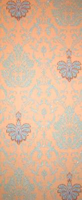 tapete belle epoque t rkis belle epoque retro tapeten pr sentiert von klang und kleid. Black Bedroom Furniture Sets. Home Design Ideas