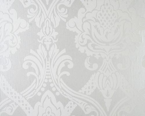 Tapeten Mit Metallic Effekt  Vincent Metall Effekt silber1 L 10 m