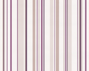 Tapete Springtime 3 Streifen Violett Springtime Retro