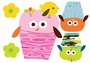 WANDAUFKLEBER CAROLYN GAVIN - OWLS - MINI