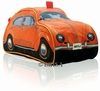 VW K�FER KULTURBEUTEL ORANGE - VOLKSWAGEN BEETLE