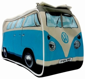 vw bus t1 kulturbeutel bulli blau volkswagen. Black Bedroom Furniture Sets. Home Design Ideas