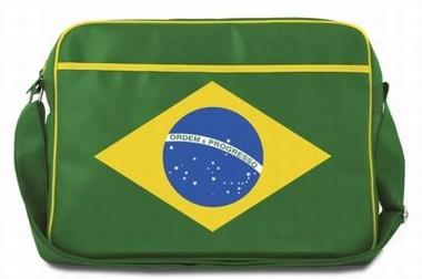 Logoshirt - Brasilien Tasche - Querformat