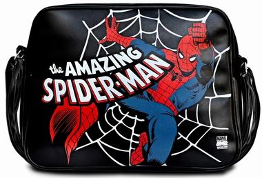 Marvel - Spider-Man Tasche - Schwarz - Kunstleder