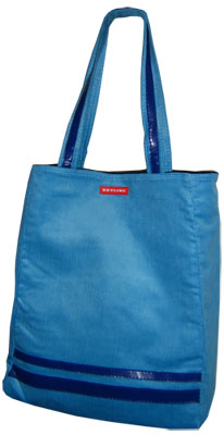 Skyline - Lugano Shopper - Blau