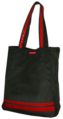 Skyline Tasche - Lugano Shopper - Braun/Rot