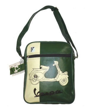 Vespa Schultertasche - grn