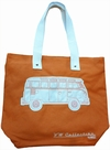 VW BUS TASCHE - T1 - LEINEN ORANGE