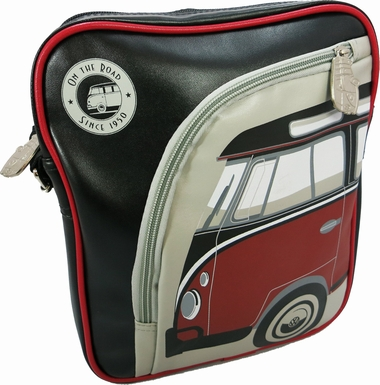 vw taschen merchandise vw bus ipad tasche bulli rot schwarz volkswagen coolstuff. Black Bedroom Furniture Sets. Home Design Ideas