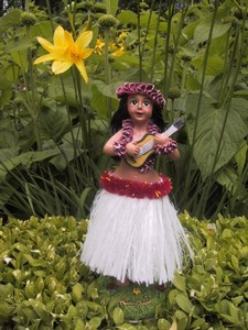 Hula Doll - weiss