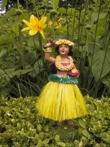 Hula Doll - gelb