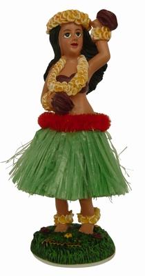 Hula Doll - Hula Girl mit Blume
