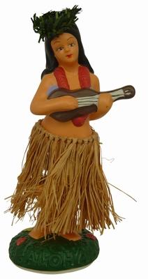 Hula Doll - Hula Girl mit Gitarre