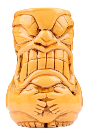 Tiki Mug Big Belly Orange
